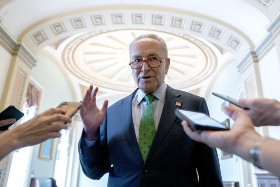 Schumer Sets Up Vote on Debt Ceiling After Saying It Must Be Raised by End of Week