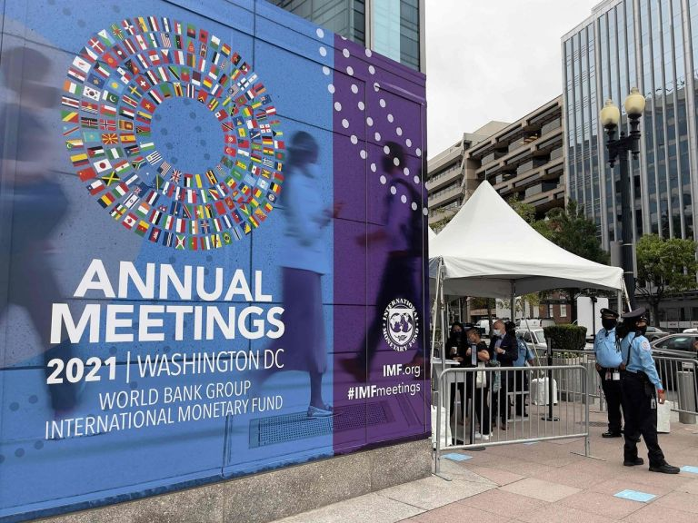 IMF Cuts Global Growth Forecast Amid Supply Chain Disruptions, Warns of Inflation Risks
