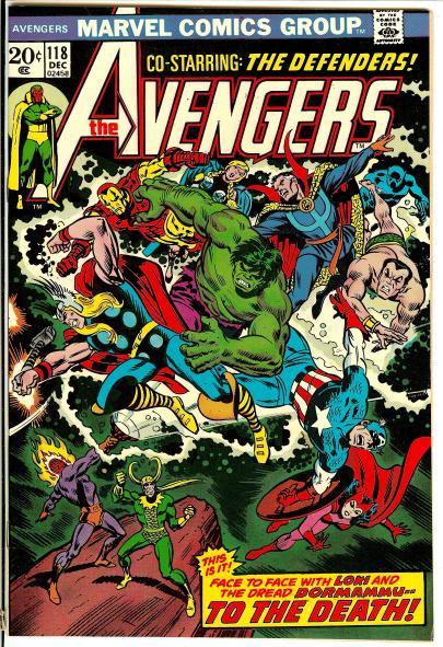 Avengers writers - Avengers #118