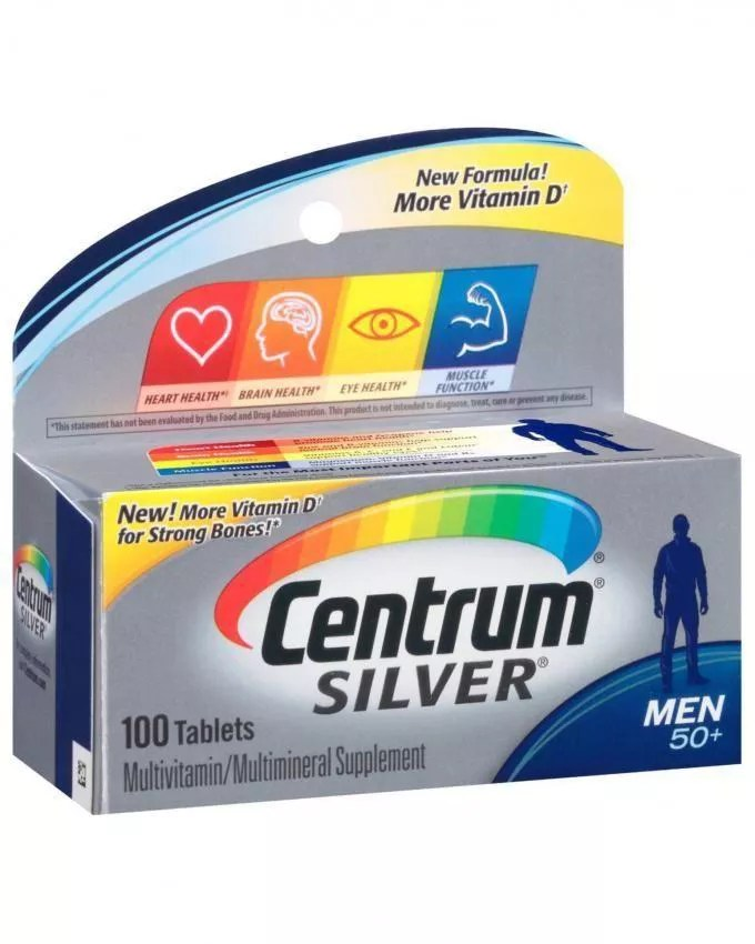 Centrum Silver Men 50 120 Tablets