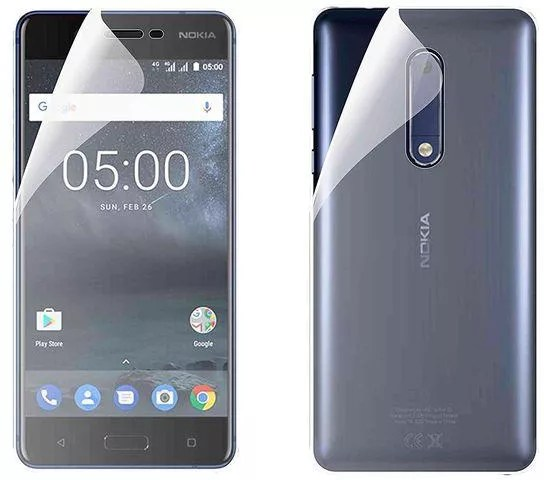 Generic Full Front And Back Nano Screen Protectors For Nokia 5