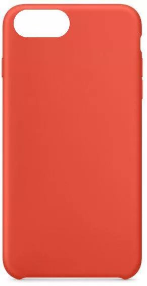Silicon Back Cover For Apple Iphone 8 Plus Orange