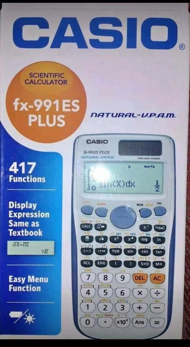 الة حاسبة كاسيو Fx 991 Es Plus