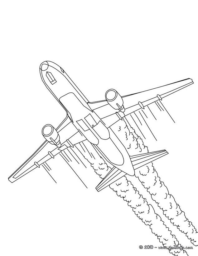 Gambar Dibujo De Avion De Linea Para Colorear Dibujos Para Jpeg Png ...