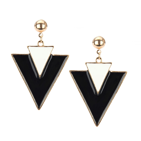 Triangle Earrings - US$3.95