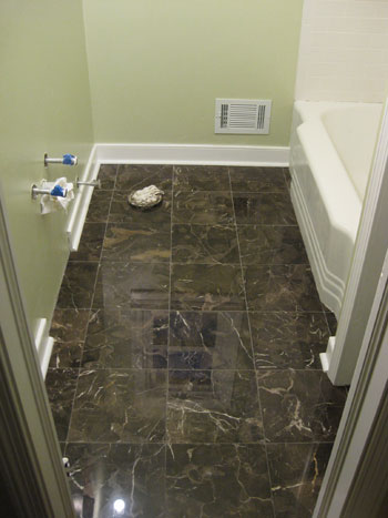 Marvelous In The End It Was About A Five Hour Process. And Just Like Grouting, The  Difference Was Amazing. More And More It Was Starting To Look Like A Real  Bathroom.