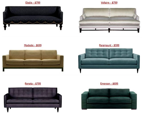Cheap Couches Los Angeles