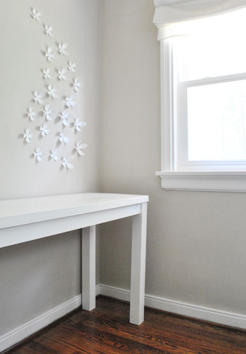 It was also the right price (just $70- since we already owned the door all of the screws wood filler primer and paint). And we have the satisfaction of ... & How To Build A Desk With An Old Hollow Core Door | Young House Love