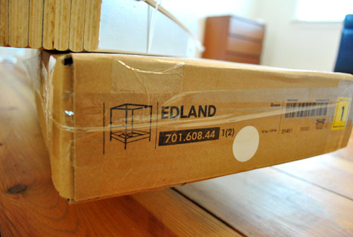 Mister Ed The Bed Assembling Our Edland From Ikea