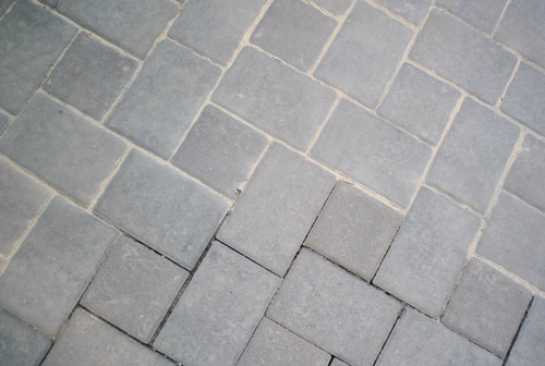 block weeds in our paver patio