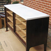 Two-Tone A Dresser or Buffet