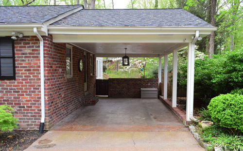 Building A Garage Or Carport Pergola | Young House Love