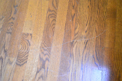 How to clean gloss up and seal dull old hardwood floors young after sweeping the next step was to use their floor cleaning spray by just working my way around the room spraying it on the floor and following that with tyukafo