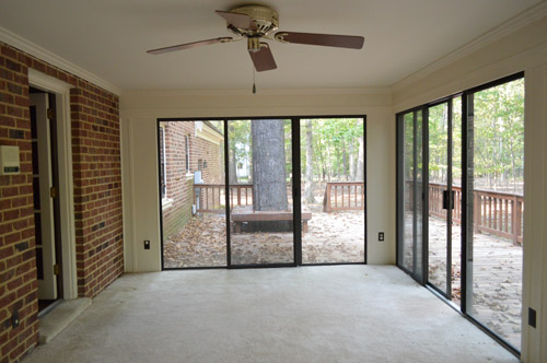Exceptional When It Came To Brainstorming What We Thought We Could Do With It, I Had  Deja Vu For Our First Sunroom, Which We Made Over With Some Floor U0026 Ceiling  Paint, ...