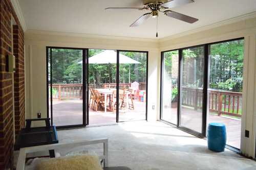She Honed In On A Key Difference Between Those Two Sunrooms: This One Was  Surrounded By A Deck On All Sides.
