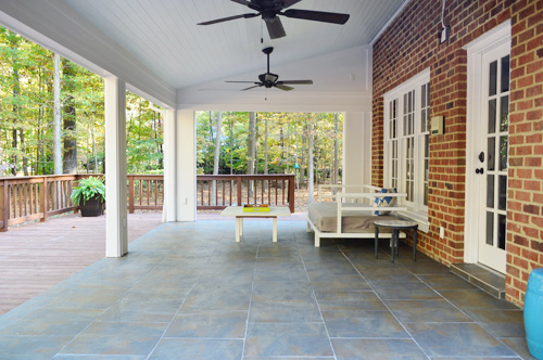 Back Porch Ideas Budget