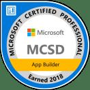 MCSD: App Builder — Certified 2018