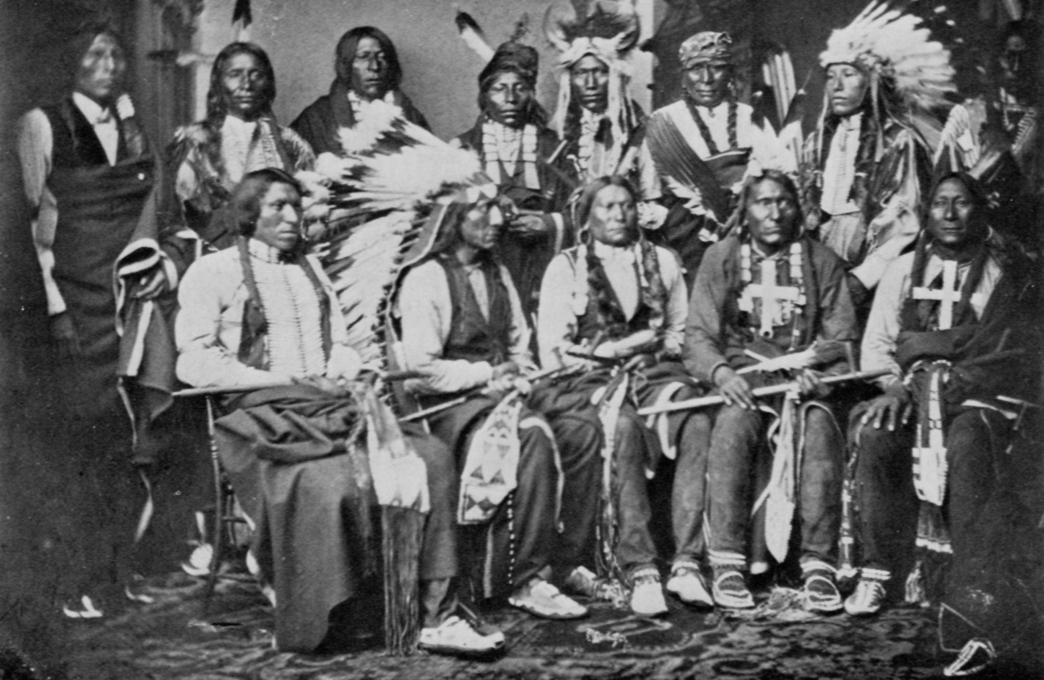 Wir sind die neuen Indianer – das ist so sicher, wie das ...  Wir sind die ne...
