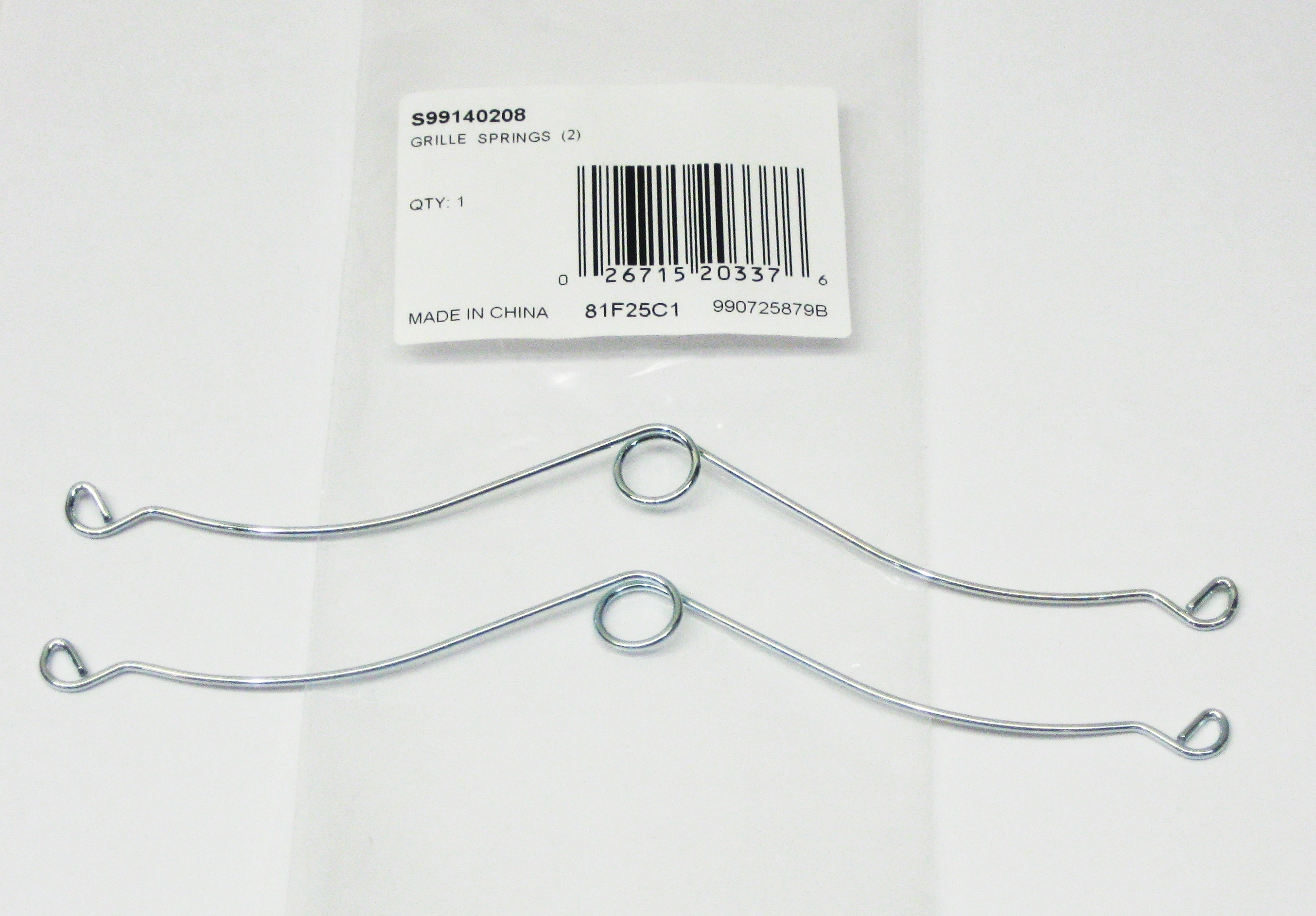 Broan Nutone S Grille Springs Clips Set Of 2