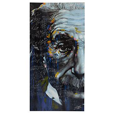 Einstein Its All Relative Canvas Art By Type Art
