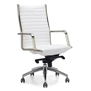 Network Desk Chair   Modern Chair with High Back   Z Gallerie Network Desk Chair   High Back