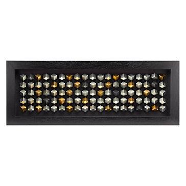 Silver Cubes Framed Art Art By Type Art Z Gallerie