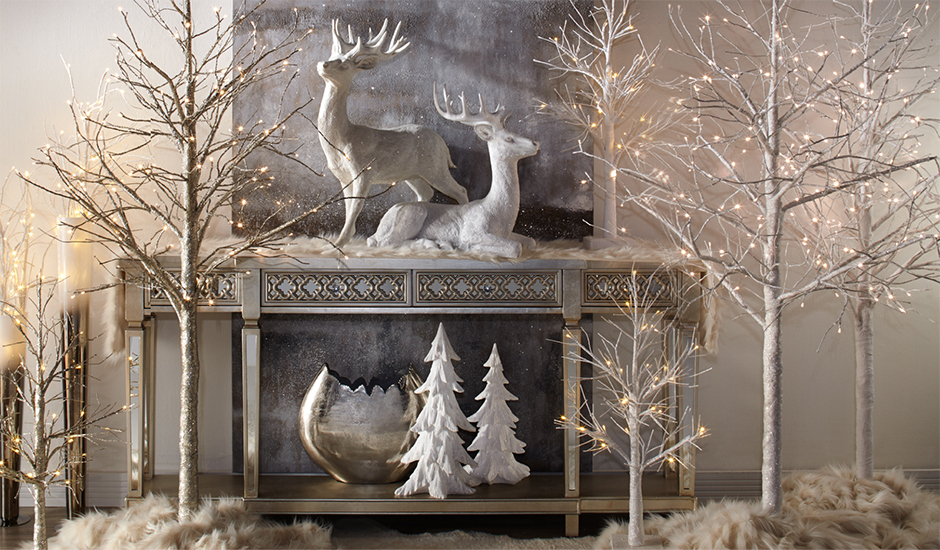 Deck The Halls With Z Gallerie Holiday Decor