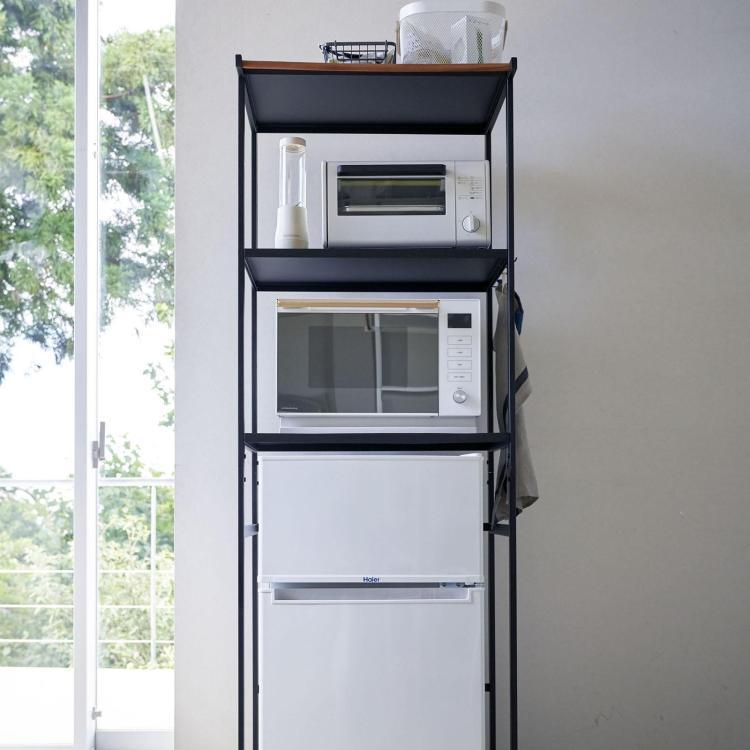 tower kitchen appliance storage rack