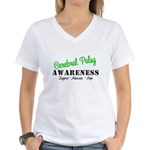 CerebralPalsy Awareness Women's V-Neck T-Shirt