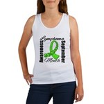 Lymphoma Month Gemstone Women's Tank Top