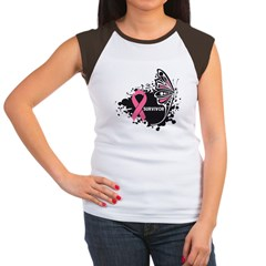 BreastCancerSurvivor Women's Cap Sleeve T-Shirt