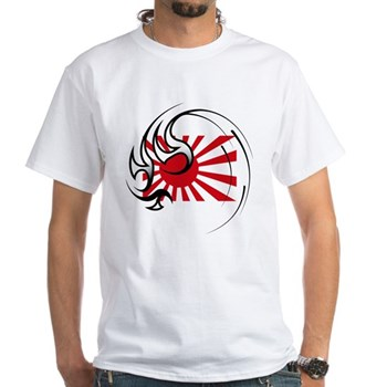Stay Strong Japan White T-Shirt