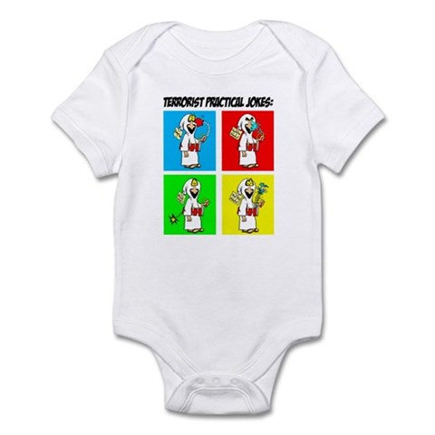 Terrorist Practical Jokes Infant Creeper