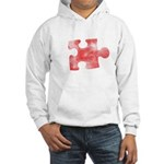 MY MISSING PIECE Hooded Sweatshirt