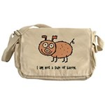 Anti Bacon Compassion Messenger Bag