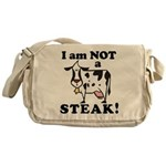 Animal Rights Messenger Bag