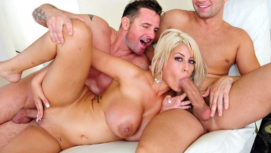 Big Tit Crackers, Scene # 02 (Bridgette B., David Perry, Cristian Devil)