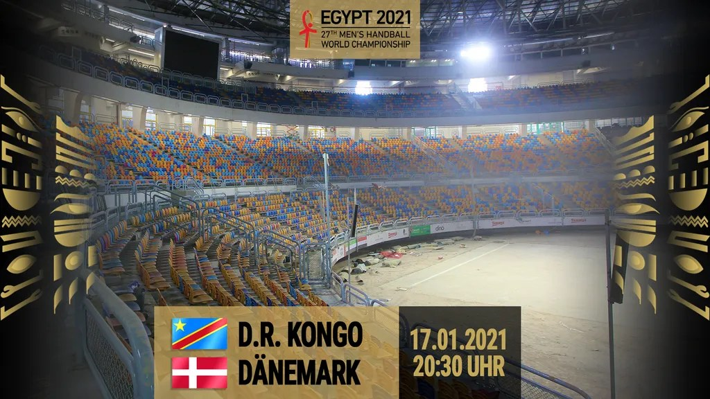 re live demokratische republik kongo vs danemark gruppe d handball wm 2021