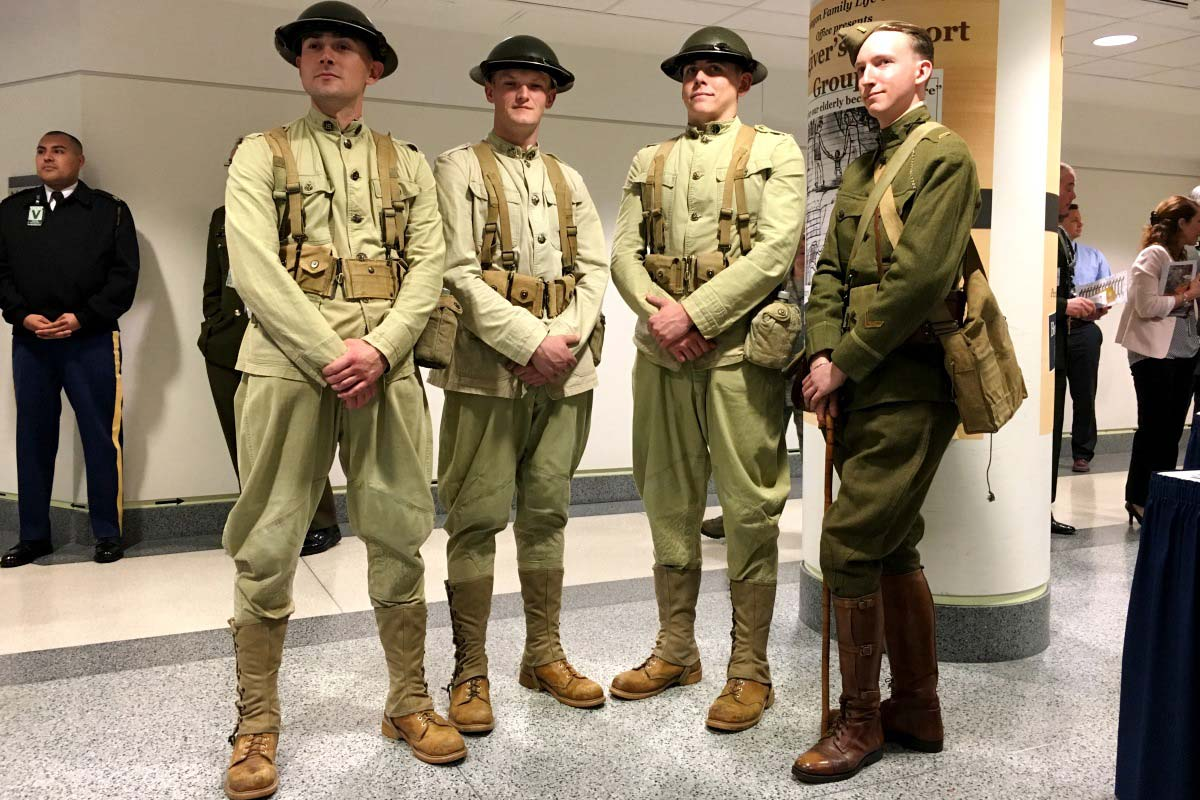 Army Commemorates 100th Anniversary Of Us Entering Wwi