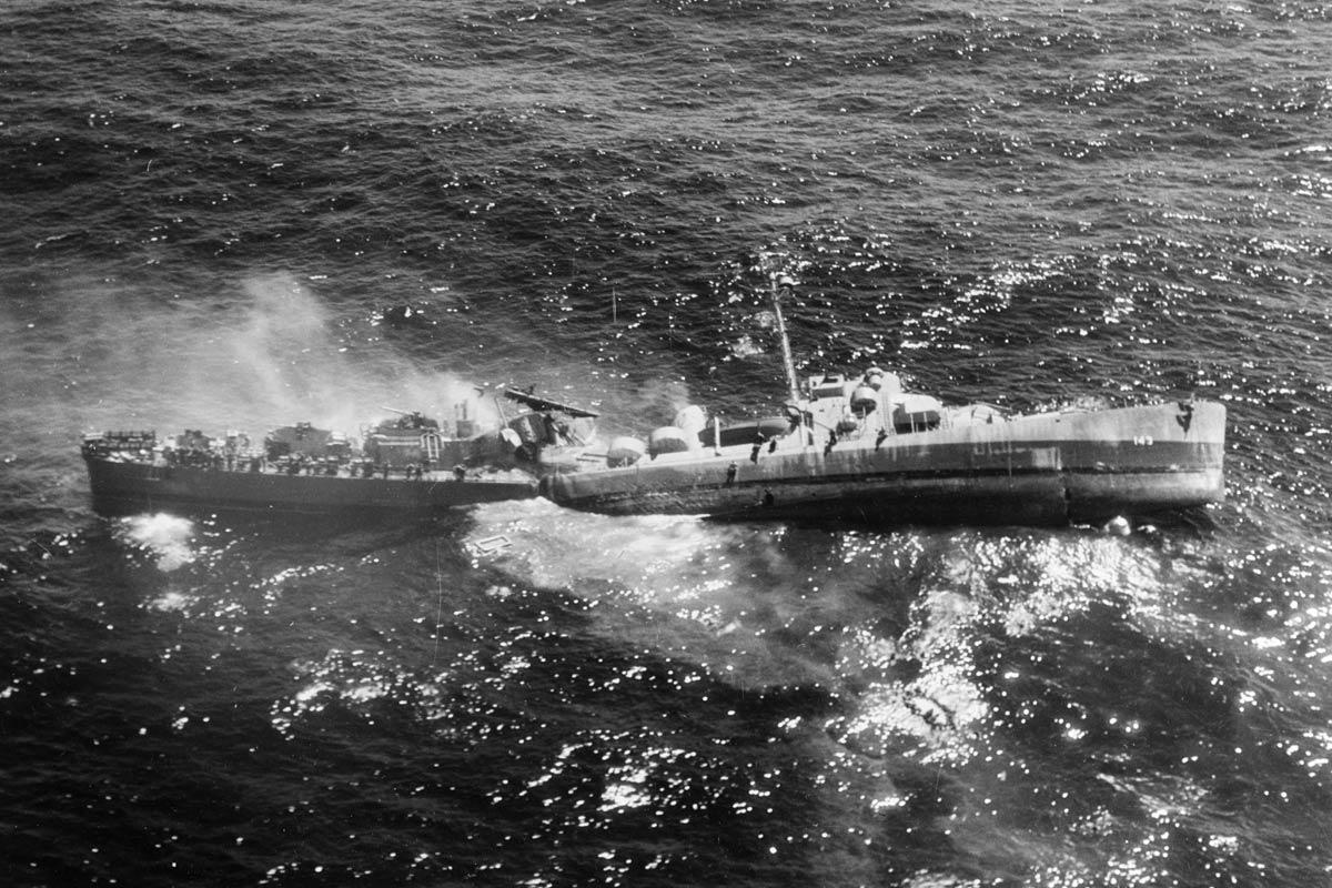 World War Ii Veteran Who Survived 2 Ship Sinkings Shares