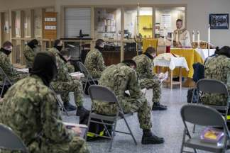 U.S. Navy Allows Service Members to Attend In-Person Church Services During Coronavirus Pandemic