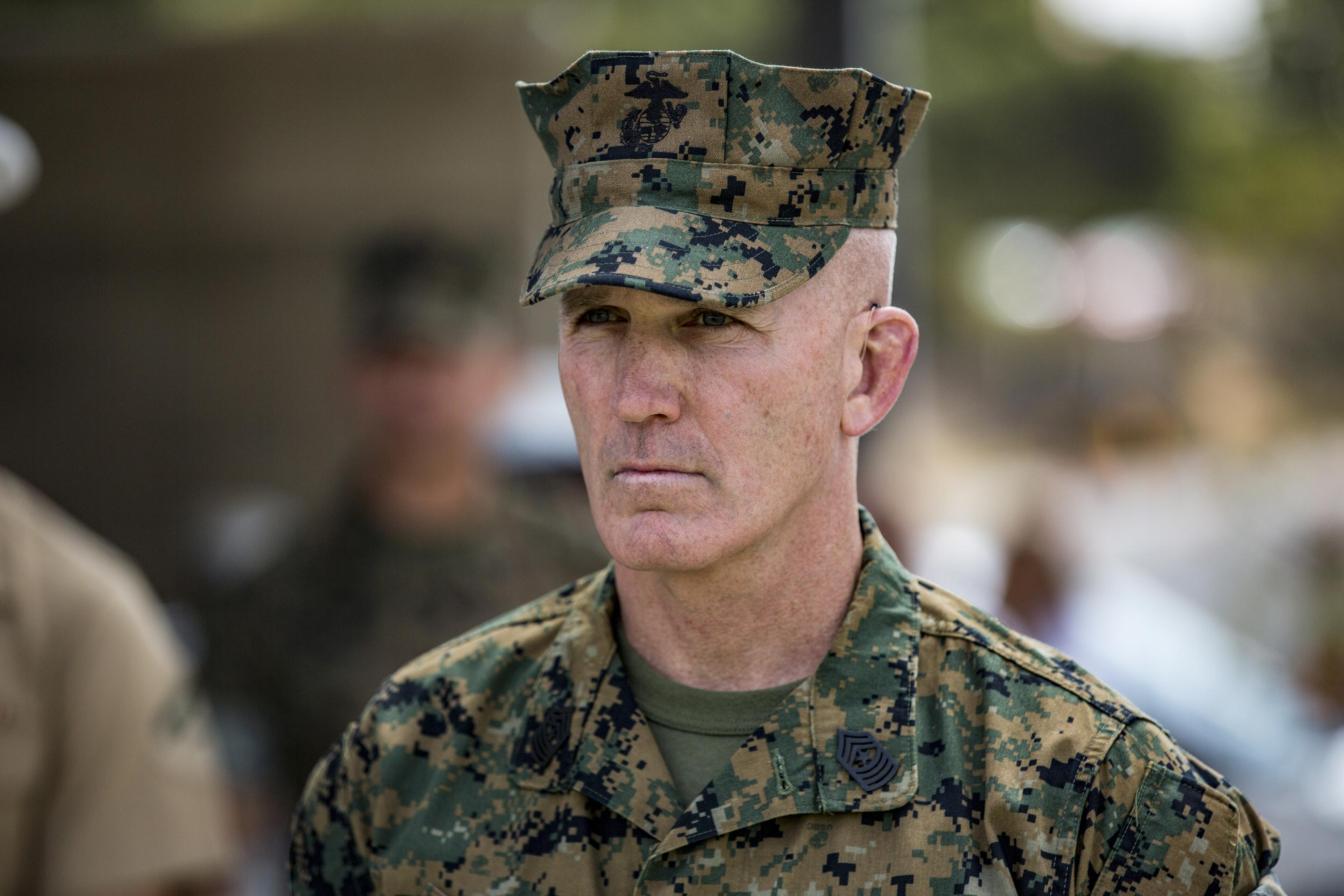 One Of The Marine Corps Most Iconic Enlisted Leaders Just