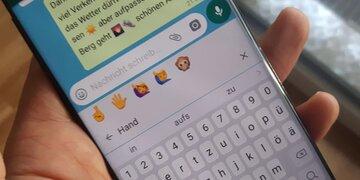 whatsapp neues update mit emoji