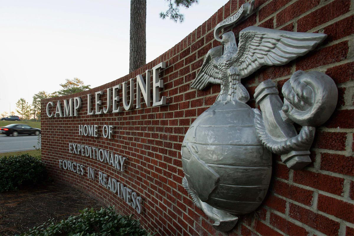 Photo of Camp Lejeune Marine Presumed to Have Drowned on Base