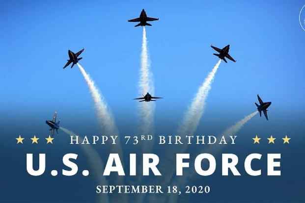 State Department Officials Accidentally Feature Navy Planes In Air Force Birthday Messages Military Com
