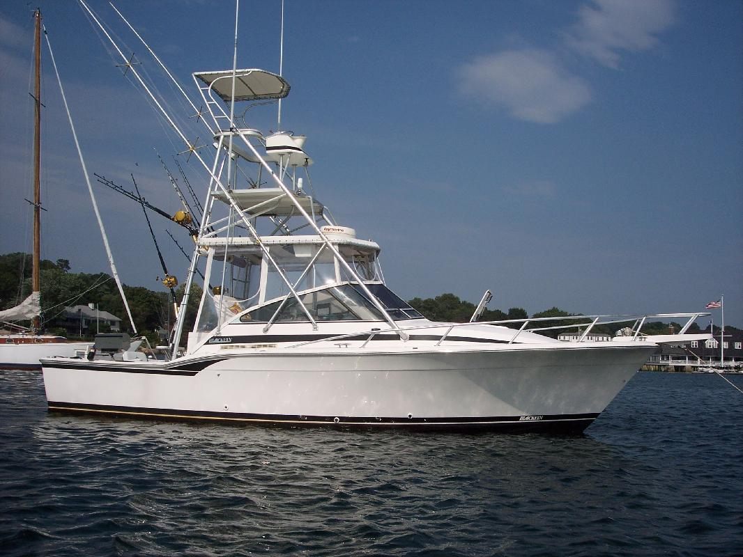 1995 31 Blackfin Combi For Sale In Haverhill