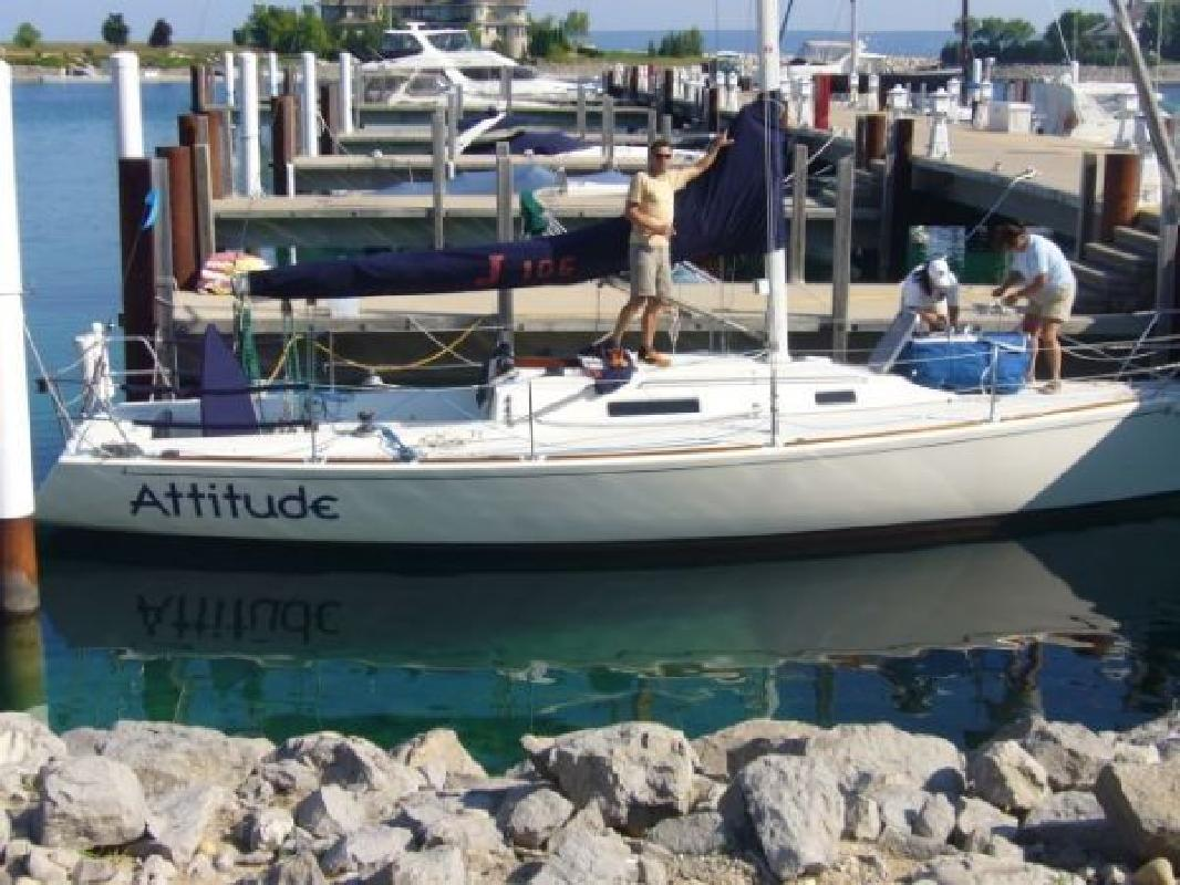 1998 34 J BOATS INC J Boats J105 For Sale In Muskegon Michigan All Boat