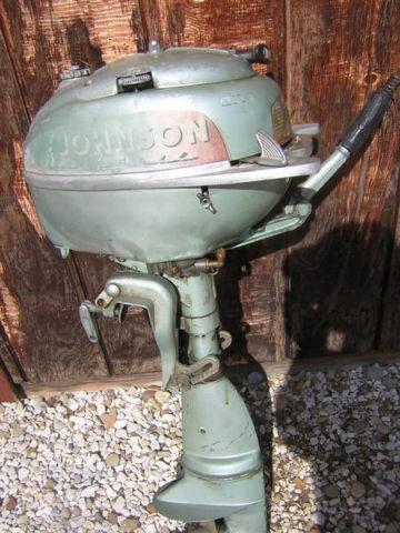 1951 Johnson 5 HP Outboard Motor For Sale In Drakesburg