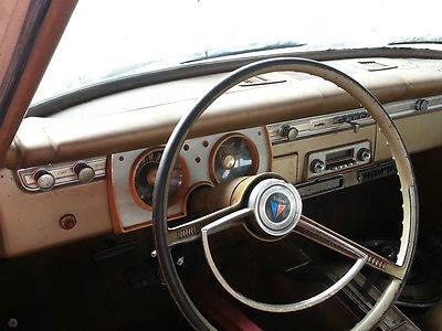 1965 Plymouth Barracuda Fastback With Under Dash A C For
