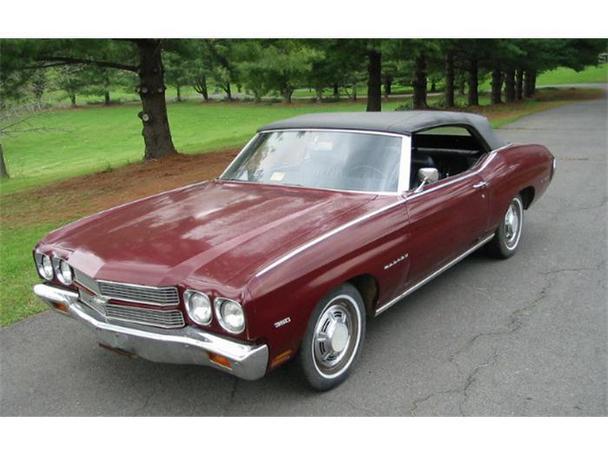 1970 Chevy Malibu Sale